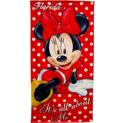 Picture of Disney Minnie Mouse All About Me Beach Towel