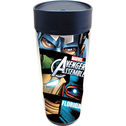 Picture of Disney Marvel Eyes Captain America Hulk Travel Mug