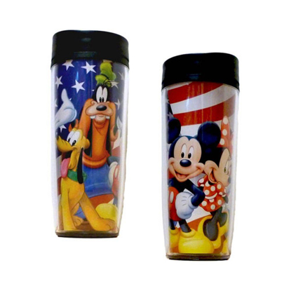 Picture of Disney USA Mickey Gang Minnie Goofy Donald Pluto Travel Mug
