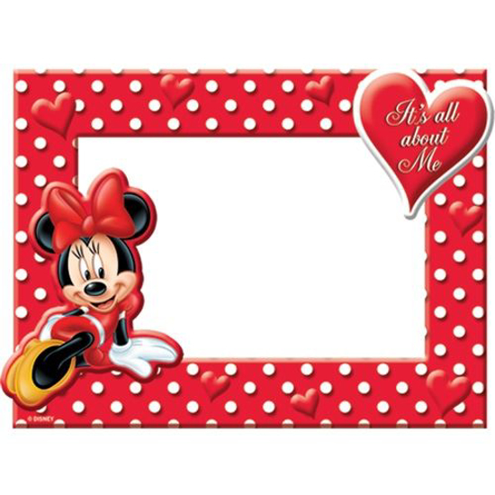 Picture of Disney Minnie Mouse All About Me Picture Frame