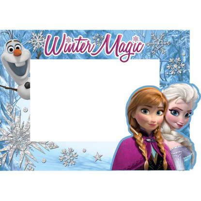 Picture of DISNEY FROZEN ELSA, ANNA, AND OLAF WINTER MAGIC PICTURE FRAME