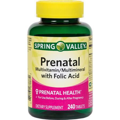 Picture of Spring Valley Prenatal Multivitamin 240 tablets