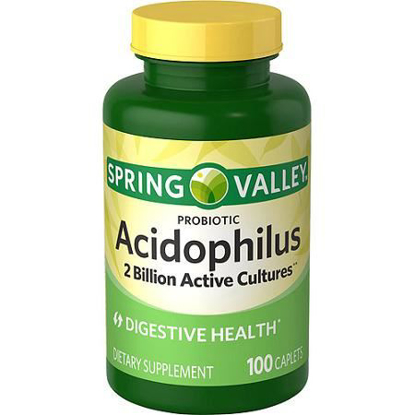 Picture of Spring Valley Probiotic Acidophilus 100ct Digestive Health