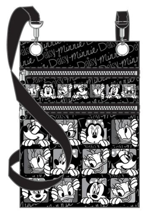 Picture of Disney Funny Face Minnie Daisy Passport Bag