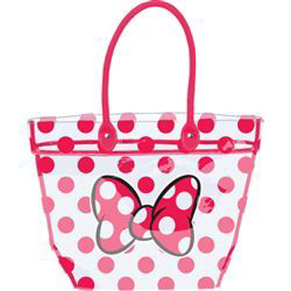 Picture of Minnie Bows & Dots Large Clear Tote