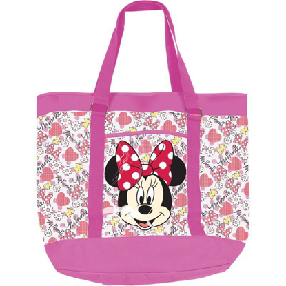 Picture of Disney Mickey & Minnie Mouse Large Mesh Beach Bag Tote