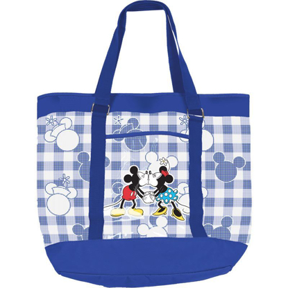 Picture of Disney Mickey Minnie Beach Tote, Blue