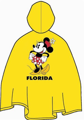 Picture of Disney Minnie Mouse Adult Rain Poncho