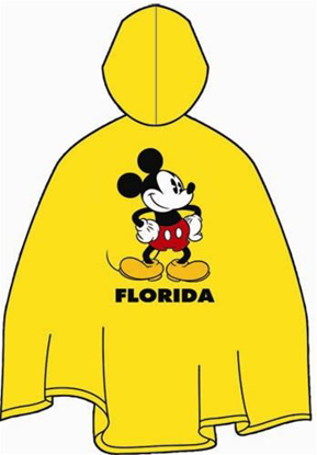 Picture of Disney Adult Unisex Mickey Mouse Rain Poncho