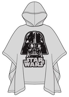 Picture of Star Wars Darth Vader Hooded Rain Poncho Youth