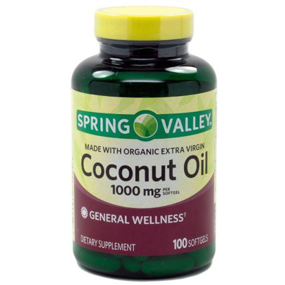 Picture of Spring Valley Made With Organic Extra Virgin Coconut Oil, General Wellness