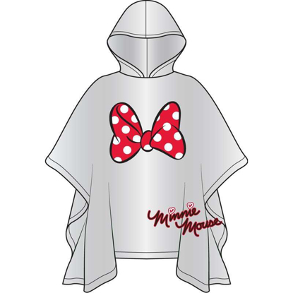 Picture of Disney Minnie Parts Rain Poncho Adult