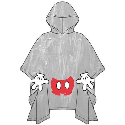 Picture of Disney Mickey Parts Rain Poncho Youth