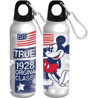 Picture of DISNEY TRUE AMERICAN CLASSIC MICKEY MOUSE 14OZ ALUMINUM WATER BOTTLE