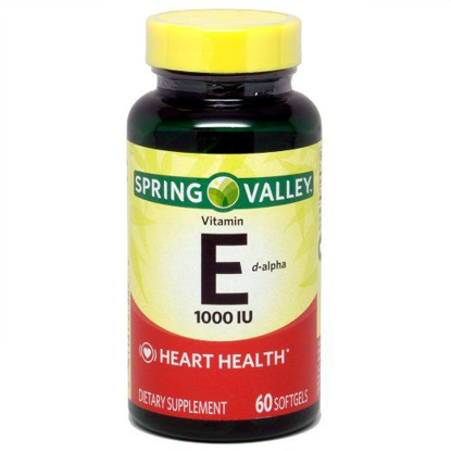 Picture of Spring Valley Natural E Vitamin D-Alpha Dietary Supplement