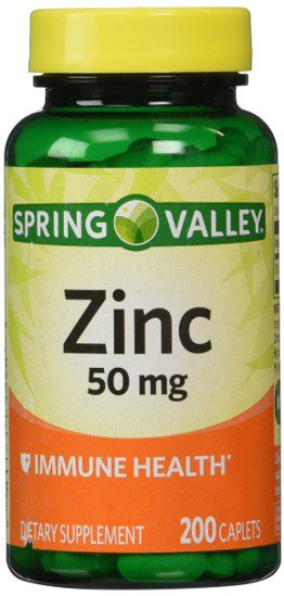 Picture of Spring Valley - Zinc 50 mg, 200 Ct
