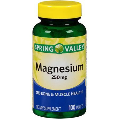 Picture of Spring Valley Magnesium 250 Mg 100 Tablets