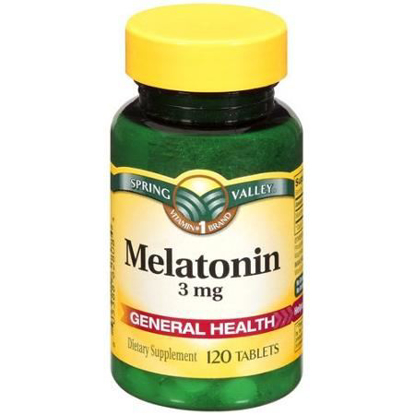 Picture of Spring Valley 3 Mg Melatonin