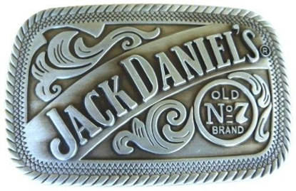 Picture of Jack Daniel Tennessee Whiskey Belt Buckle