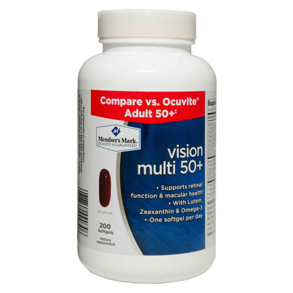 Picture of Member's Mark Vision Multi 50+ Dietary Supplement