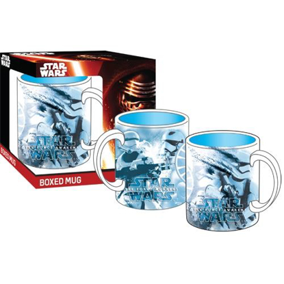 Picture of Disney Star Wars the Force Awakens Blue Boxed Mug