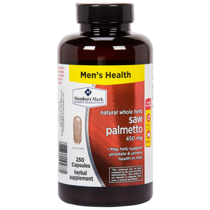 Picture of Member's Mark - Saw Palmetto 450 mg, 250 Capsules