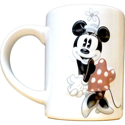 Picture of Disney Minnie Mouse 3d Tonal Relief 14 oz Ceramic Mug
