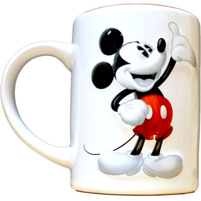 Picture of Disney Mickey Mouse 3d Tonal 14oz. Ceramic Mug
