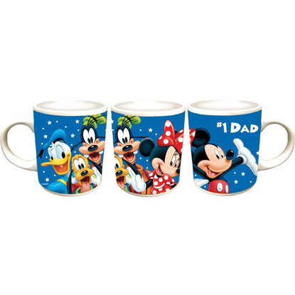 Picture of Disney Fab 5 #1 DAD 11oz Ceramic Disney Mug