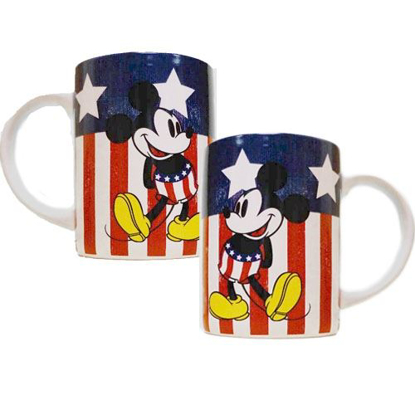 Picture of Disney Mickey Mouse American Mickey 14 oz Jumbo Mug