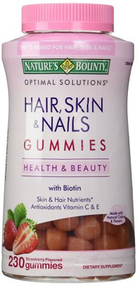 Picture of Nature's Bounty Hair Skin and Nails, 230 Gummies