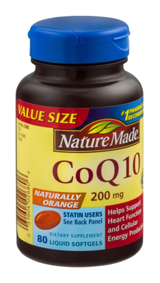 Picture of Nature Made CoQ 10 Liquid Softgels Naturally Orange 200 mg Value Size -140CT