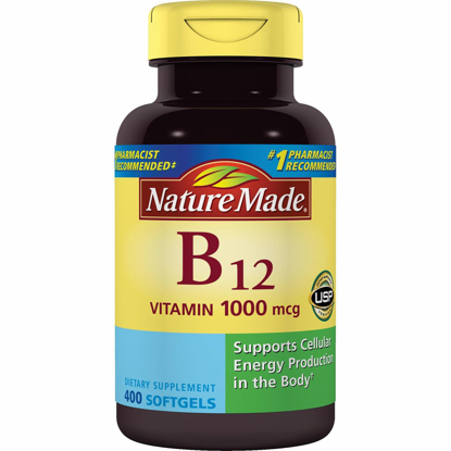 Picture of Nature Made Vitamin B-12 1000mcg 400 Softgels