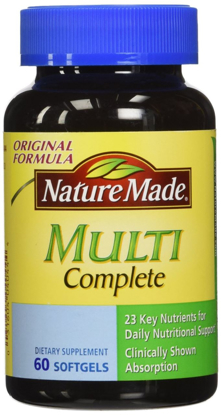 Picture of Nature Made Multi Complete Dietary Softgels Original Formula - 60 ct