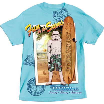 Picture of Disney Adult Star Wars Storm Troop Fun in the Sun, Blue
