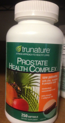 Picture of Trunature Prostate Health Complex Saw Palmetto with Zinc, Lycopene & Pumpkin Seed Extra Strength - 250 Softgels