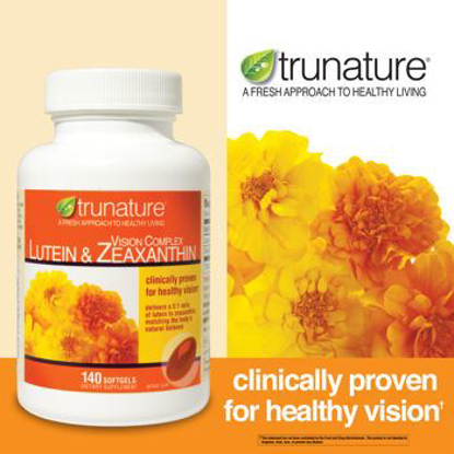 Picture of Trunature Vision Complex Lutein & Zeaxanthin 140 Softgels