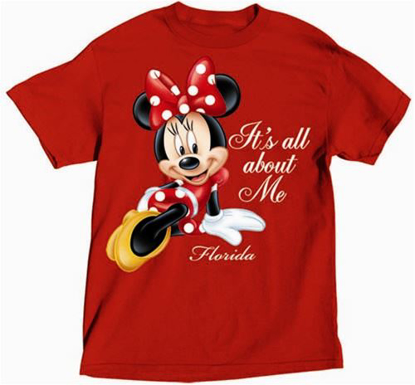 Picture of Disney Women's All About Minnie T Shirt