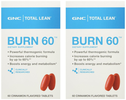 Picture of GNC Total Lean Burn - Cinnamon - 120 Tablets ( 60/60)