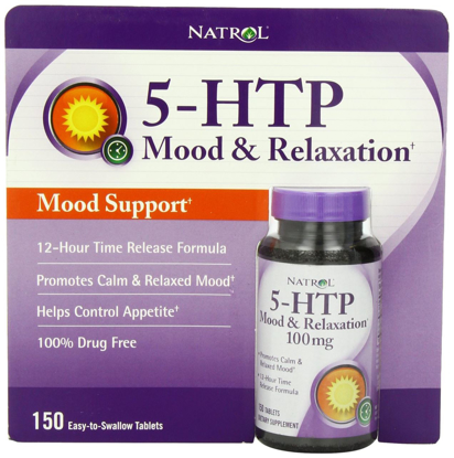 Picture of Natrol 5-HTP Mood Enhancer Tablets, 150-Count