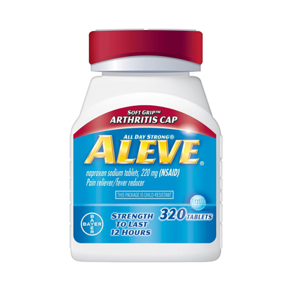 Picture of Aleve 'Soft Grip Arthritis Cap' - 320 Tablets