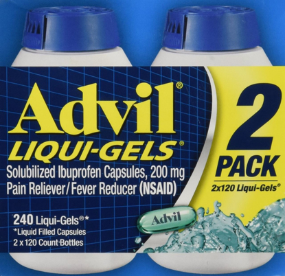 Picture of Advil Liquigels, 200 Miligrams, 240 Count 200mg