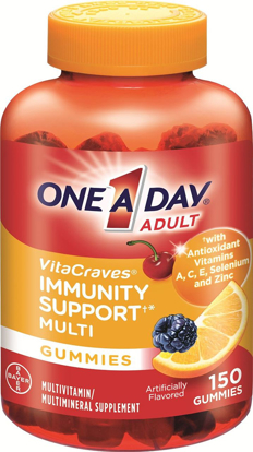 Picture of One A Day Vitacraves Immunity Gummies, 150 Count