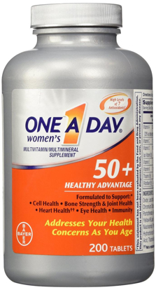 Picture of One A Day Women's 50 Plus Healthy Advantage 200 Tablets