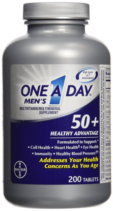Picture of One A Day Men's 50+ Healthy Advantage, 200 Tablets