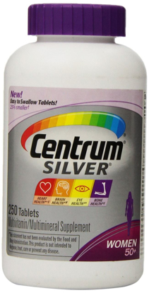 Picture of New! Easier to Swallow Centrum Silver Women's 50+ 250 tablets