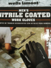 Picture of Wells Lamont Nitrile Coated Work Gloves 12 Pairs Medium