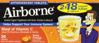 Picture of Airborne Effervescent Health Immune Boosting Formula Zesty Orange 36 Tablets ...