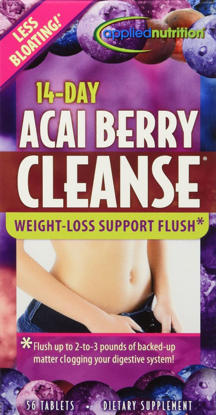 Picture of Applied Nutrition - 14-Day Acai Berry Cleanse - 56 Tablets
