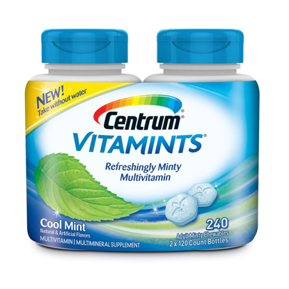 Picture of Centrum Vitamints Multivitamins, Cool Mint, 240 Count